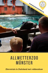 Allwetterzoo dierentuin Münster met kinderen