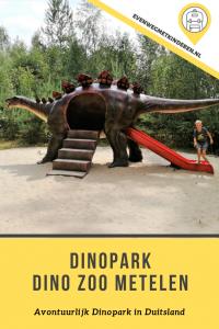 Dinopark Dino Zoo Metelen Duitsland met kinderen bezoeken Tips en Informatie