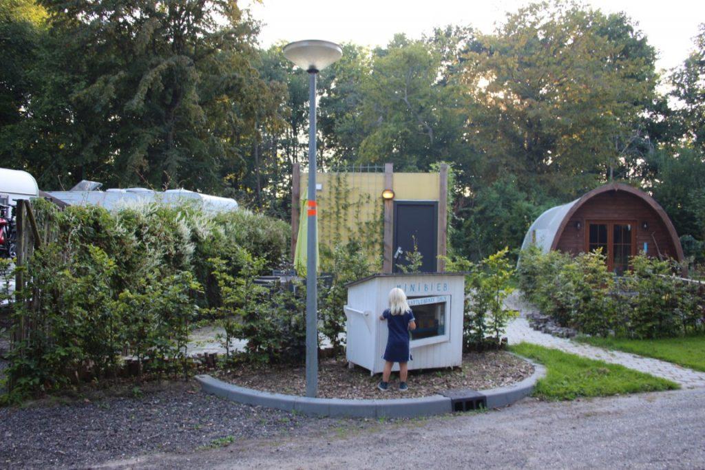Mini Bieb Camping Buytenplaets Suydersee Boomhutovernachtingen Lelystad