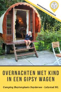Overnachten in een gipsywagen met kinderen - Review overnachting op camping