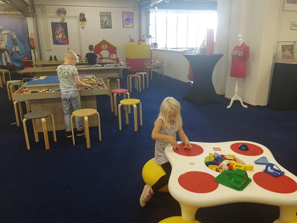 Bouwen met LEGO - Bouwhoek LEGIO museum