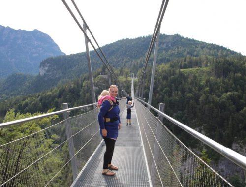 Highline 179 Oostenrijk Hangbrug met peuter kleuter - Ervaringen