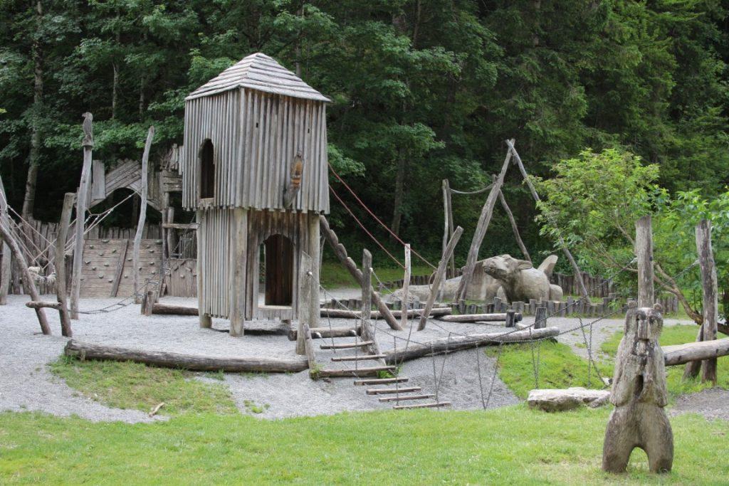 Highline 179 Reutte Tirol met kinderen - Speeltuin