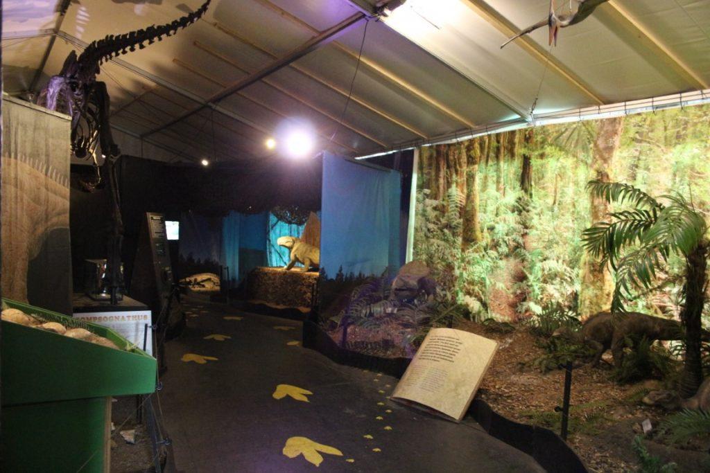 Dinopark Tenaxx Groningen; dino uitje tentoonstelling