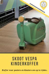 Skoot Vespa kinderkoffer - Ervaringen