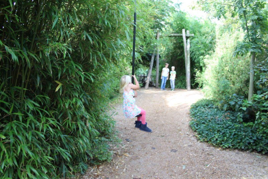 Berkenhof Tropical Zoo buitenspeeltuin