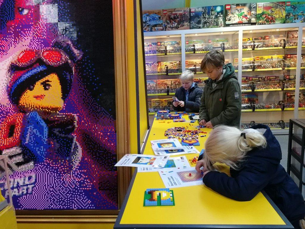 LEGO Mozaiek activiteiten met kinderen - Mini Billund