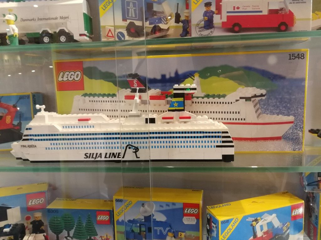 LEGO cruise schip - LEGO museum Noord-Brabant