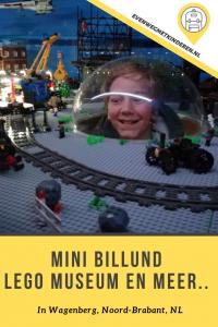 Review Mini Billund met kinderen - LEGO museum uitje in Nederland