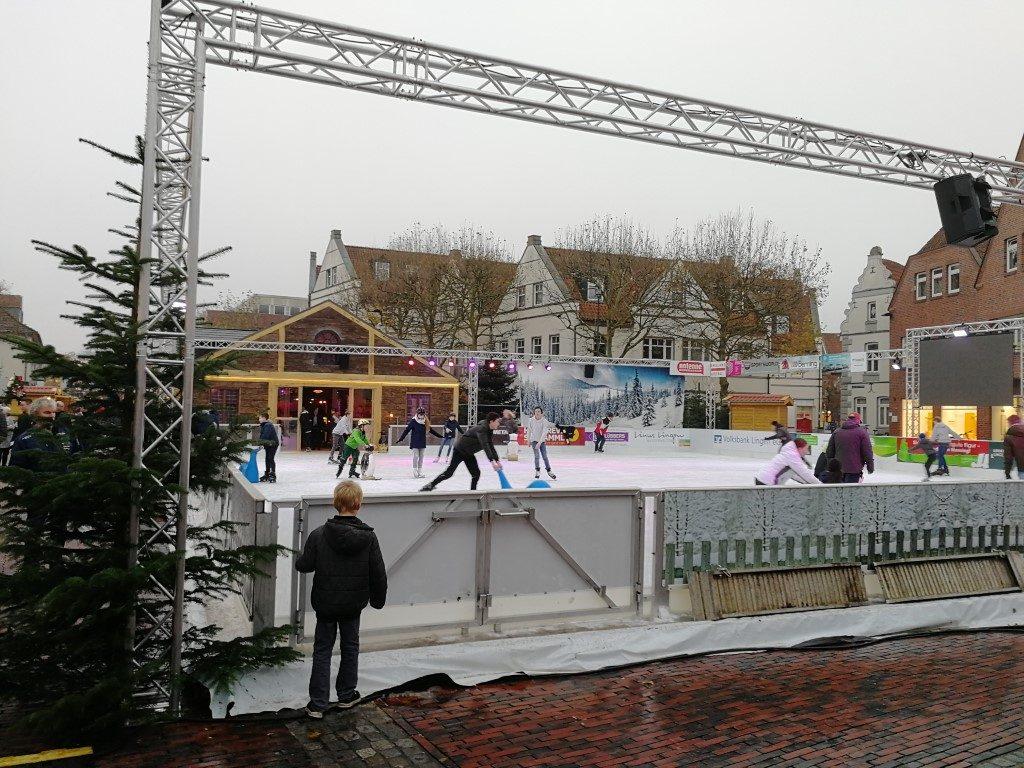 Kerstmarkt Lingen 2019 - Schaatsbaan