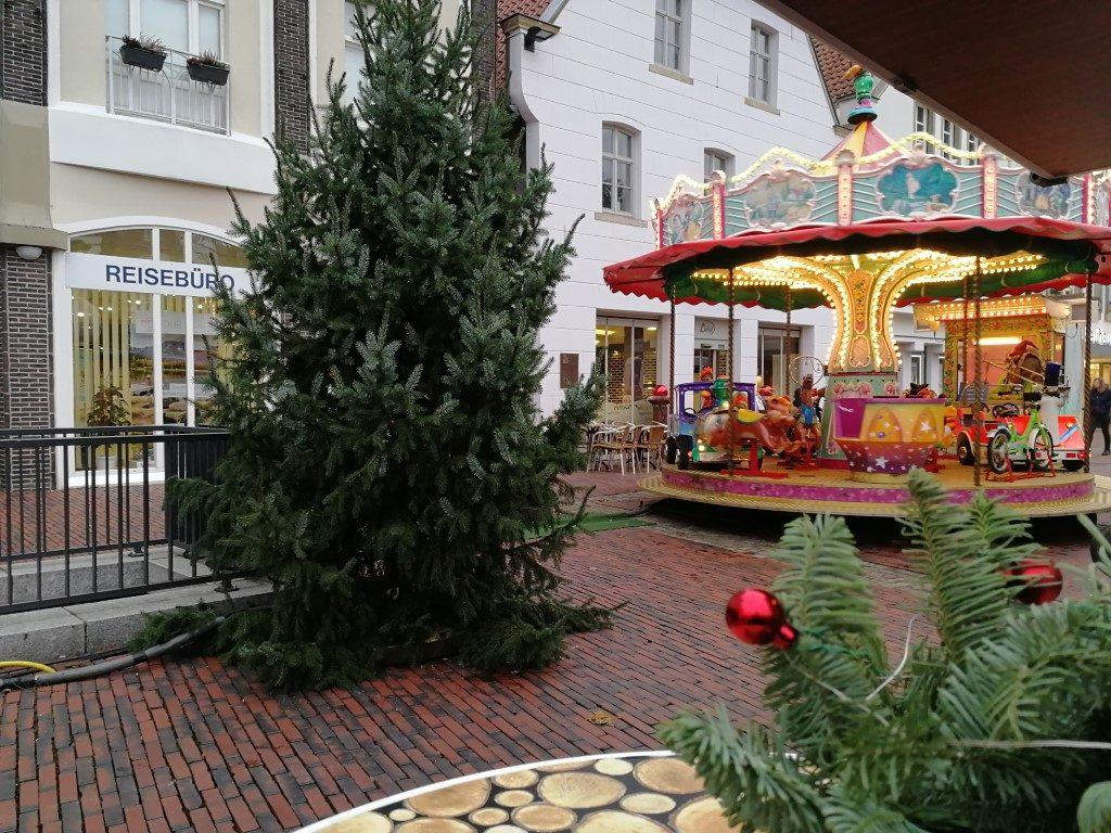 Kerstmarkt Lingen met kinderen