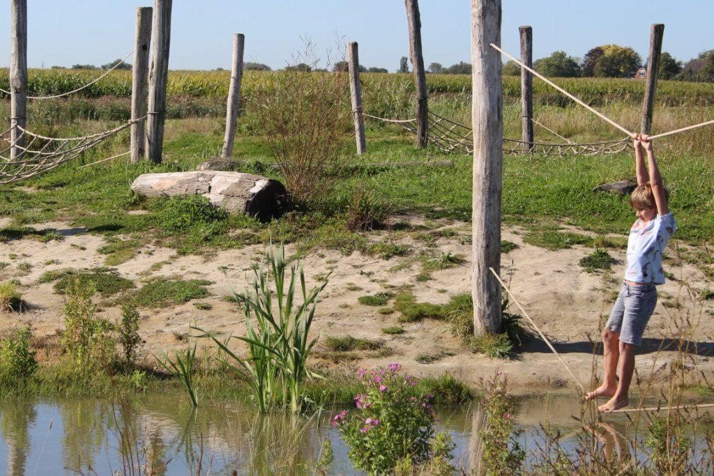 Zeehondencreche Pieterburen met kinderen - Natuurspeeltuin Groningen