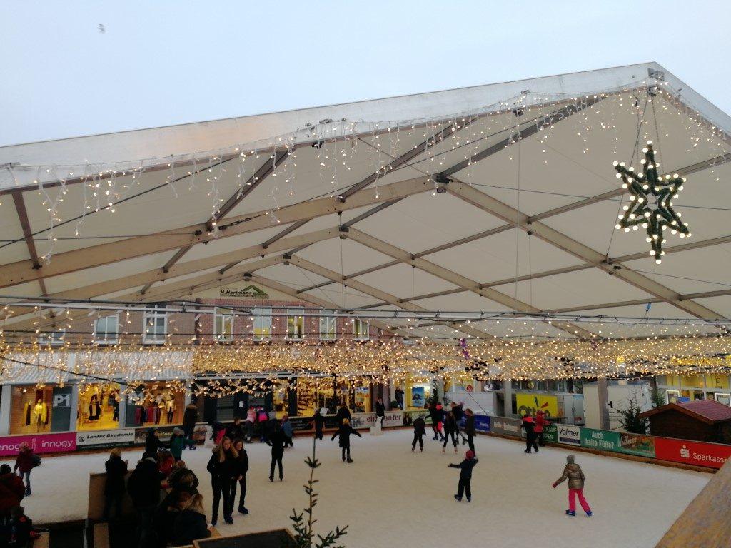 Kerstmarkt Meppen Schaatsbaan