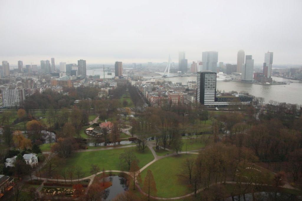 Euromast Erasmusbrug Rotterdam