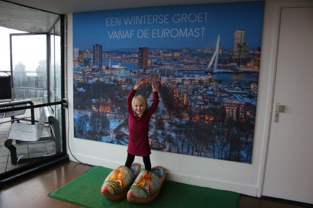 Euromast met kinderen