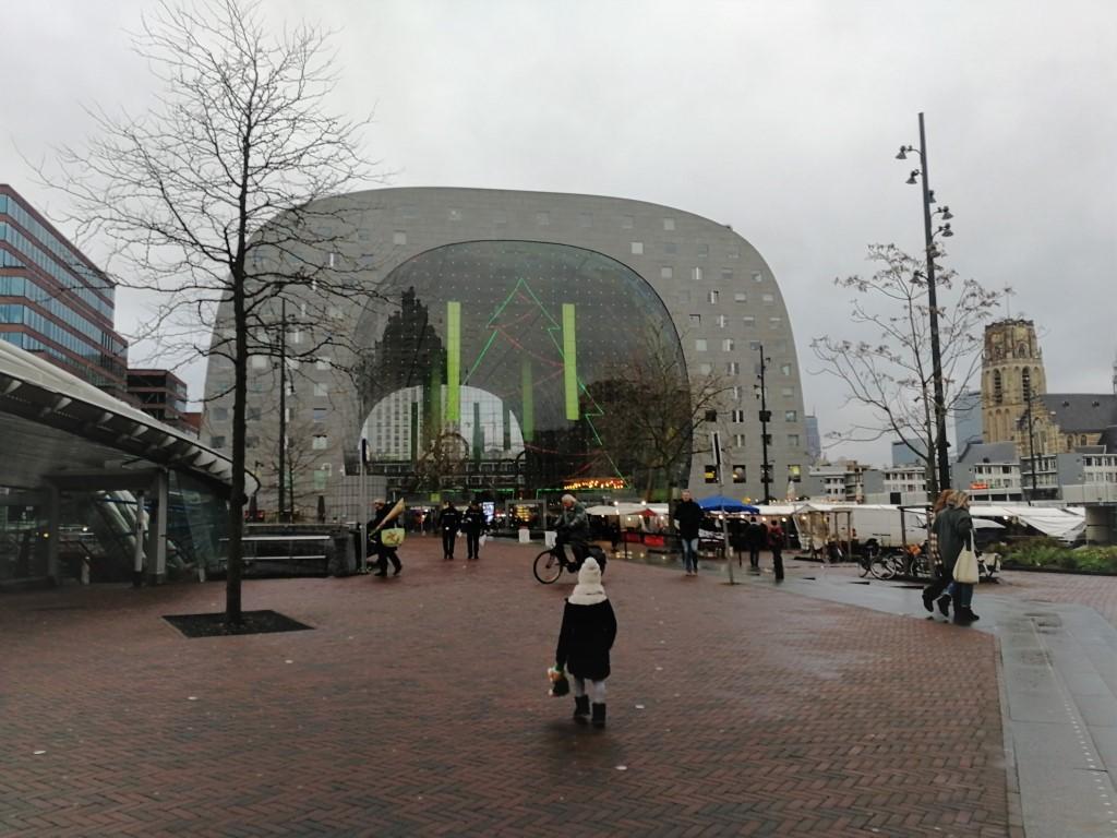 Markthal Rotterdam met kinderen - Review