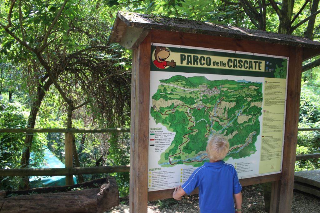 Parco Delle Cascate - Watervallenpark Gardameer met kinderen