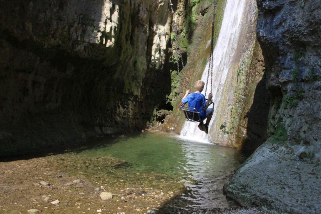 Parco delle cascate di Molina - Gardameer met kinderen - uitjes rondom het gardameer