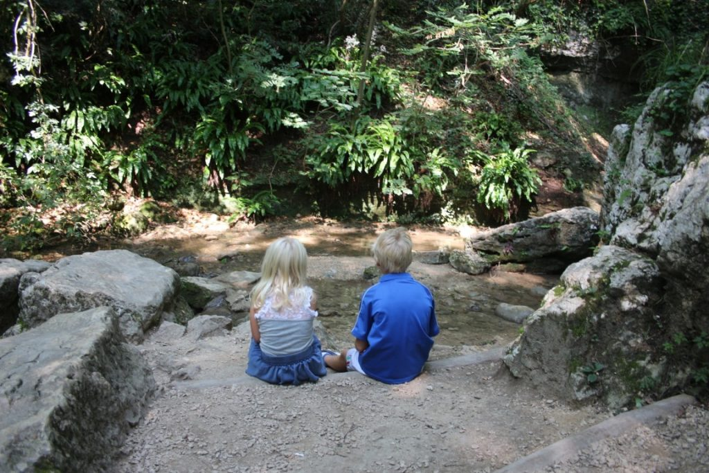 Review - Parco de cascate di Molina met kinderen