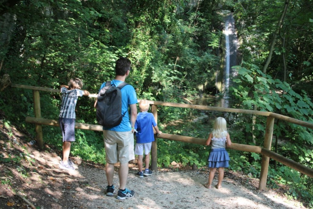 Watervallen Park Gardameer - Parco Cascate di Molina