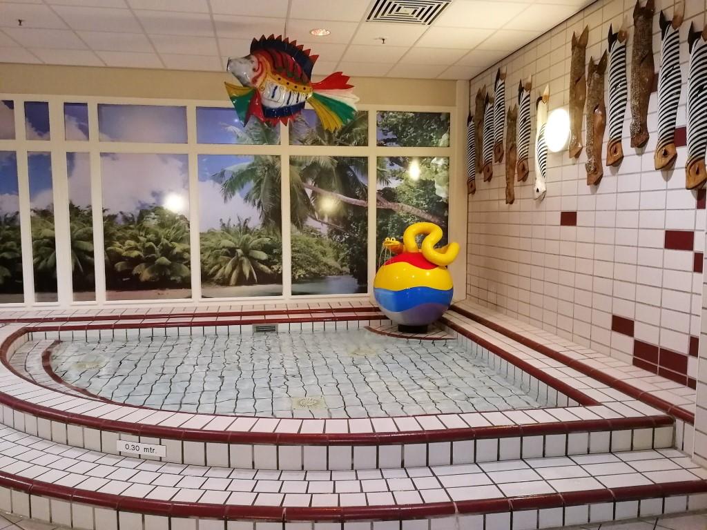 Center Parcs Parc Sandur zwembad baby zwemmen