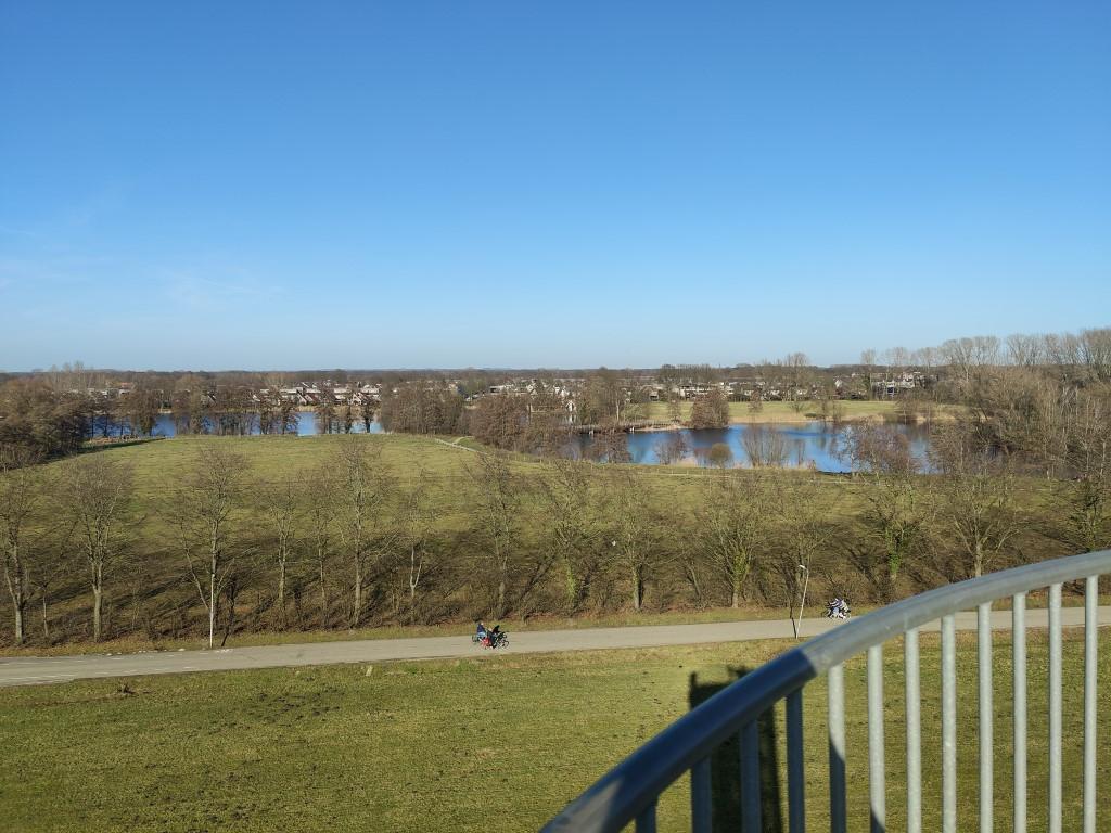 Uitzicht uitkijktoren Hengelo Weusthag park