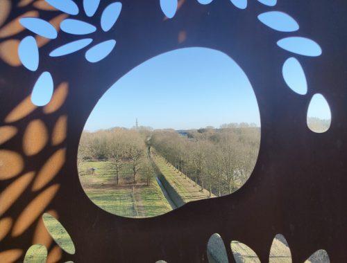 Uitkijktoren Weusthag Hengelo kijkgat