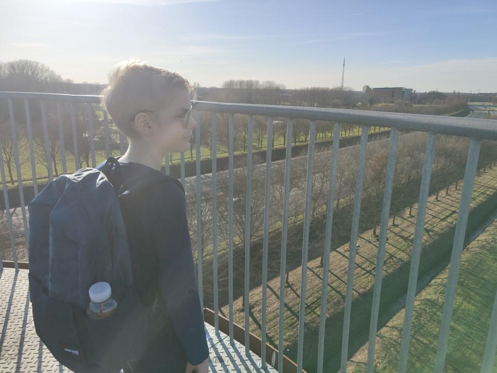 Weusthag uitkijktoren snelweg a1 hengelo borne met kinderen ervaring blog
