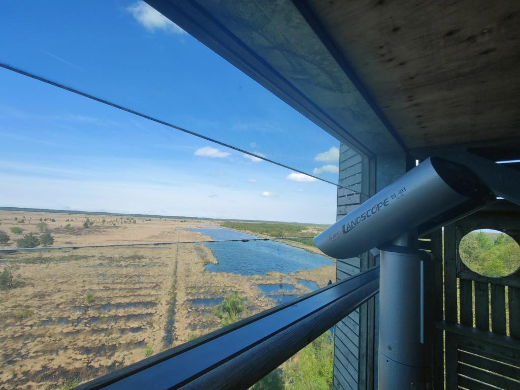 Uitkijktoren 7 De Zeven uitzicht Drenthe Friesland
